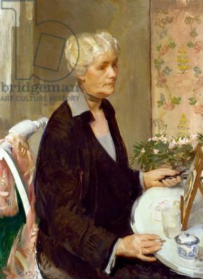 Julie Bruhns Kahle (Mrs. Marcel Kahle), c.1925-26 (oil on canvas)