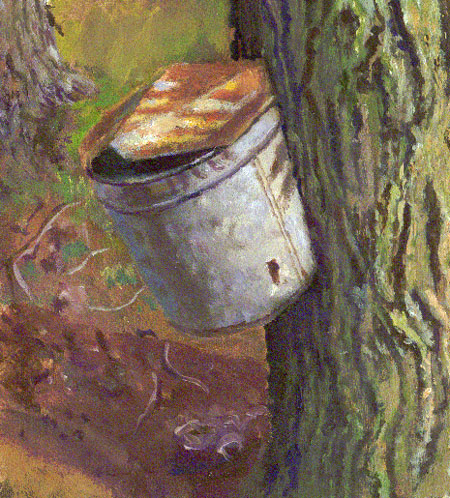 still life maple-syrup-bucket