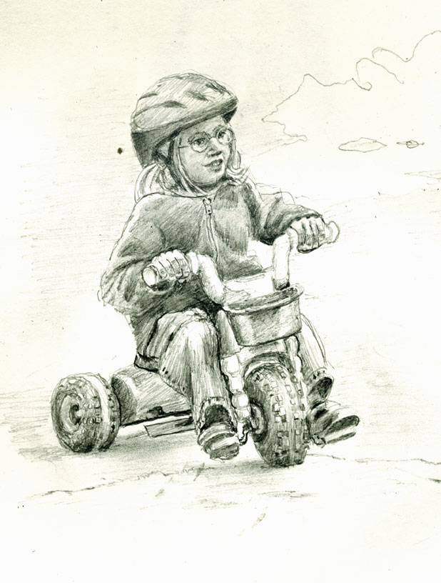 kids-drawing-tricycle