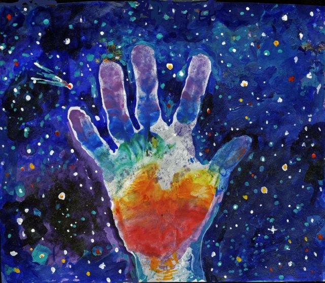 kids-hand-and-stars