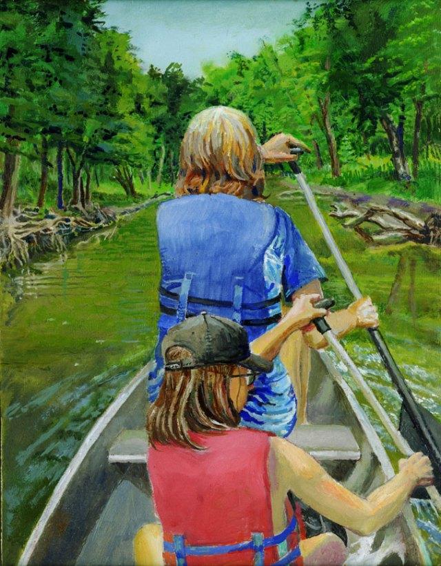 canoe-Grand-River