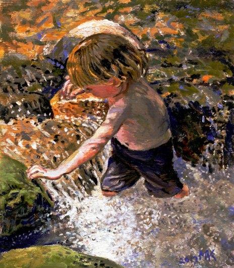 kids-water-rocks